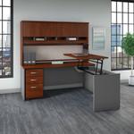 bush business furniture series c ergonomic l desk