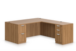 offices to go l-desk sl-s in walnut