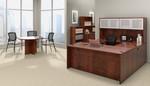 offices to go superior laminate dark cherry executive suite
