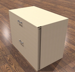 amber 2 drawer lateral file cabinet in maple