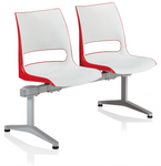 doni 2-person polypropylene beam chair