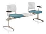 ki grazie tandem seating with inline table