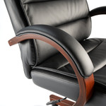 bush business furniture soft sense high back executive chair arms