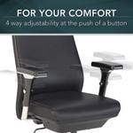 bush business furniture metropolis mid back chair features