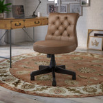 bush business furniture arden lane chair in saddle leather