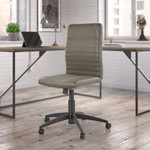 bush business furniture archive ribbed back chair