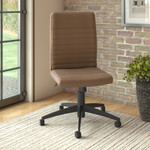 bush business furniture archive leather office chair