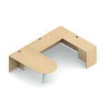 Global Adaptabilities D-Island U Shaped Office Desk ADP506L