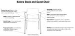 ki katera chair features
