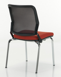 torsion air stack chair back view