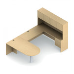 Global Adaptabilities Executive Style U Shaped Office Desk ADP503L