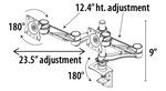 global monitor arm adjustments