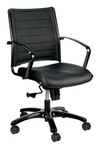 Eurotech Seating Europa Mid Back Metallic Office Chair LE222TNM
