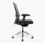 freeride executive task chair side view
