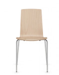 global sas wood stack chair