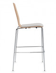 stackable wood bar stool