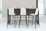 "zira 42"" high collaborative standing table"