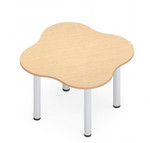 """zook 48"""" x 48"""" cluster table"""