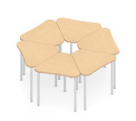 zook 6 piece modular table set