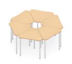 zook 6 piece modular table set