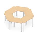 zook trapezoid pod tables configuration