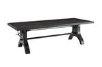 vintage style hand crank height adjustable table