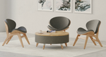 safco resi chairs with ottoman