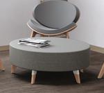 safco resi upholstered ottoman
