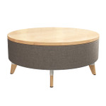 resi maple top ottoman