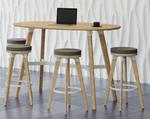 safco model 1721na resi table and stools