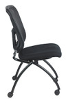 Eurotech Seating Flip Series Folding and Nesting Chair NT1000 (2 Pack!)
