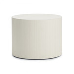 global round laminate occasional table