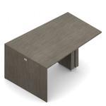 zira 60 x 84 standing height wedge table