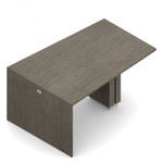zira 60 x 96 standing height wedge table