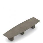 "168"" x 48"" zira boardroom table"