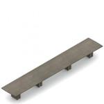 "240"" x 48"" zira bow end boardroom table"