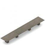 "264"" x 48"" zira rectangular boardroom table"