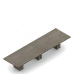 "168"" x 48"" zira rectangular boardroom table"