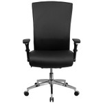 flash furniture high back 24 hour intensive use office chair front view