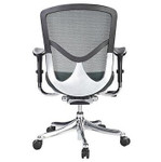 Eurotech Seating Fuzion Luxury Black Mesh Executive Chair FUZ8LX-LO