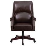 executive chair with nailhead trim