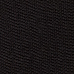 black fabric stack chair with arms color swatch