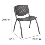 gray multi purpose chair dimensions