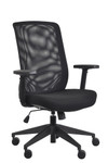 Eurotech Seating Gene Black Mesh Task Chair