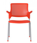 stream 4 leg stack chair