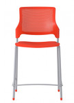 stream armless counter height stool