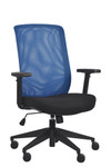 Eurotech Seating Gene Blue Mesh Task Chair