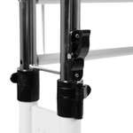white height adjustable multi purpose workstation mechanism