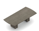 zira bow end conference table