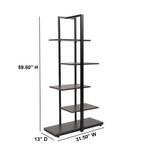 flash furniture homewood bookcase dimensions